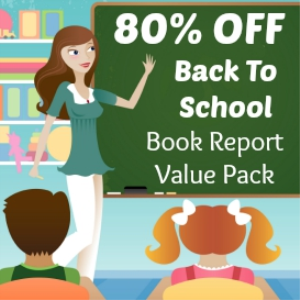 Back To School Value Pack: 28 Book Report Projects/14 Free Gifts | Documents and Forms | Templates