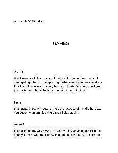games lyrics