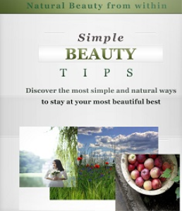 simple beauty tips .mobi format