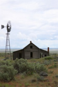 Old Oregon Homestead and Windmill | Photos and Images | Travel