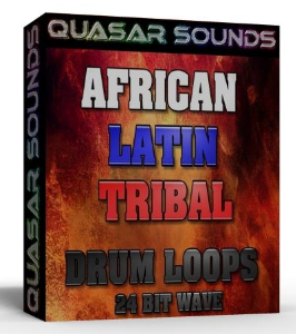 African Drum Loops , Latin Drum Loops , Tribal Drum Loops  Vol.1 | Music | Soundbanks