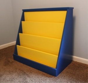 Kids Bookshelf Plans | eBooks | Home and Garden
