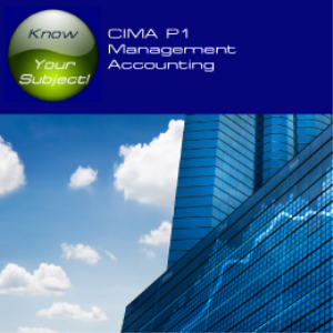 CIMA P1 Management Accounting | Software | Training