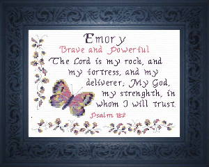 Name Blessings -  Emory | Crafting | Cross-Stitch | Other