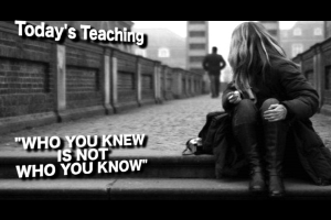 Who You Knew Is Not Who You Know | Audio Books | Religion and Spirituality