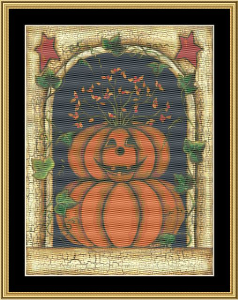 Halloween Ii | Crafting | Cross-Stitch | Holiday and Seasonal
