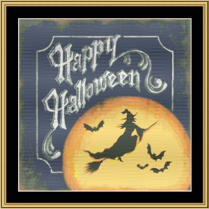 Happy Halloween | Crafting | Cross-Stitch | Holiday and Seasonal