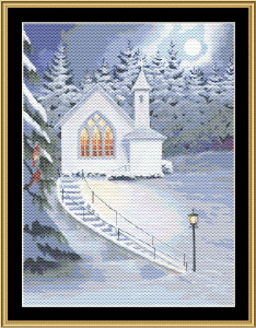 Evening Service | Crafting | Cross-Stitch | Holiday and Seasonal