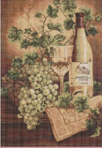 Víno (Wine) | Crafting | Cross-Stitch | Other