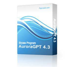 AuroraGPT 4.3