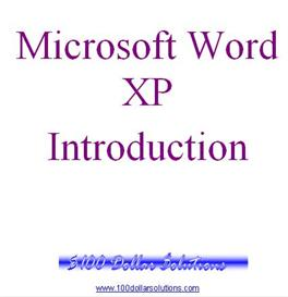 EDITABLE Microsoft Word Introduction | Software | Training