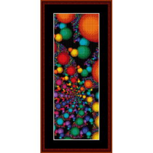 Fractal 135 Bookmark cross stitch pattern by Cross Stitch Collectibles | Crafting | Cross-Stitch | Other