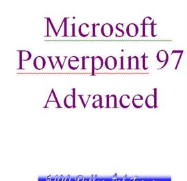 EDITABLE Microsoft Powerpoint Advanced | Software | Training