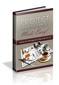 project management made easy - with master resale rights