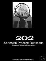 series 65 - 202 practice exam with answers and explanations