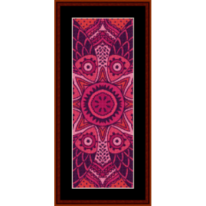Fractal 518 Bookmark by Cross Stitch Collectibles | Crafting | Cross-Stitch | Other