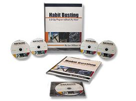 habit busting secrets - breaking any habits in 21 days or less - 5cds and workbook package - save $97 today