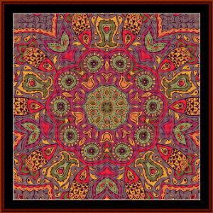 Fractal 515 cross stitch pattern by Cross Stitch Collectibles | Crafting | Cross-Stitch | Wall Hangings