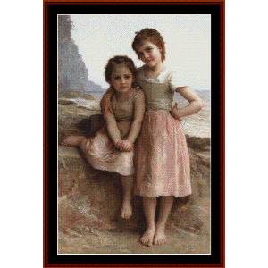 On Greve, 1896 - Bouguereau cross stitch pattern by Cross Stitch Collectibles | Crafting | Cross-Stitch | Other