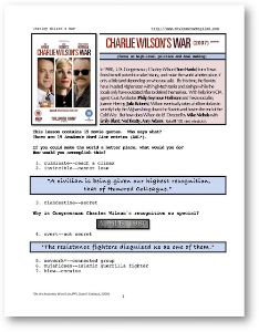 CHARLEY WILSON'S WAR, Whole-Movie English (ESL) Lesson | eBooks | Education