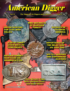 american digger magazine volume 11, issue 5