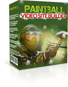 paintball video site builder software