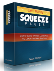 easy mobile squeeze pages pack