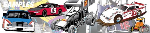 First Additional product image for - ULTIMATE Racing Clip Art Package