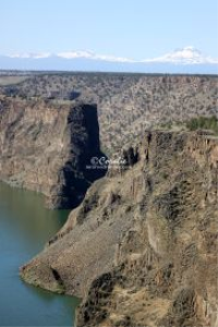 View Of The Island At Lake Billy Chinook | Photos and Images | Travel