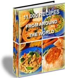 11000 Recipes - 59 CookBooks - Resale Rights | eBooks | Food and Cooking