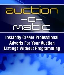 Auction-O-Matic Automated Auction Ad Creater
