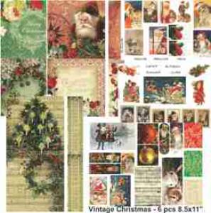 vintage christmas mini pack