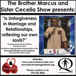 """Is Unforgiveness in Marriage and Relationships, rottening our own souls in 2015?"" 