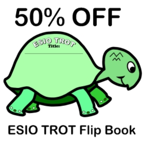 First Additional product image for - 50% Off ESIO TROT Flip Book Writing Templates