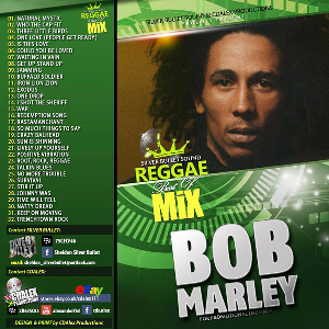 silver bullet sound - the best of  bob marley mix (2015)