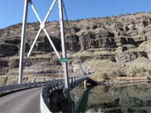 bridge canyon view