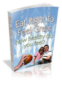 Eat Right To Feel Great Lose Weight /  loss ebook Resell | eBooks | Health