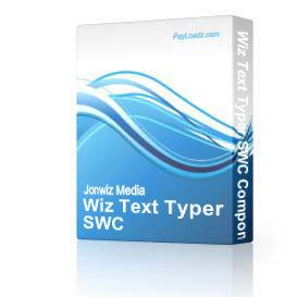 Wiz Text Typer SWC Component | Software | Developer