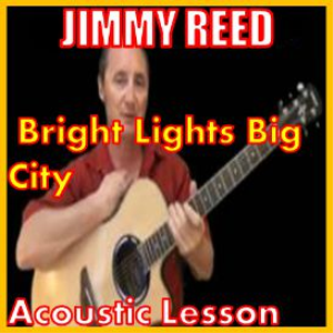 learn to play bright lights big city by jimmy reed