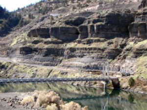 Bridge Reflections Lake Billy Chinook 5 | Photos and Images | Nature