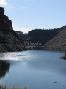 Bridge Scene Lake Billy Chinook | Photos and Images | Nature