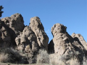 Rock Formation In The High Desert | Photos and Images | Nature