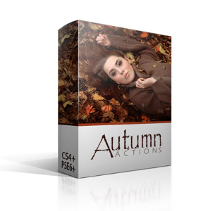 Autumn Actions Bundle for CS | Photos and Images | Digital Art
