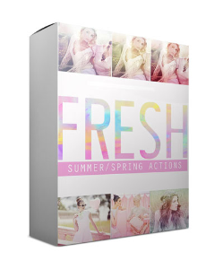 Fresh Spring Summer Actions Bundle for CS | Photos and Images | Digital Art