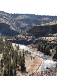 Crooked River Vews From Above | Photos and Images | Travel