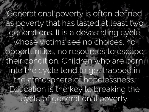 First Additional product image for - Generational Poverty