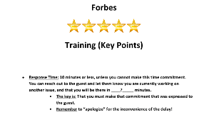 forbes five-star_key points_guest room call service standards.docx