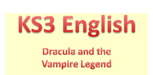 dracula and the vampire legend (powerpoint)