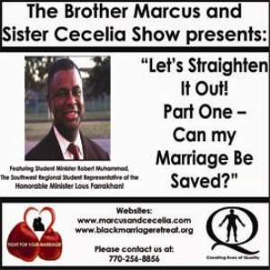 """Let's Straighten It Out! Part One – Can my Marriage Be Saved?"" 