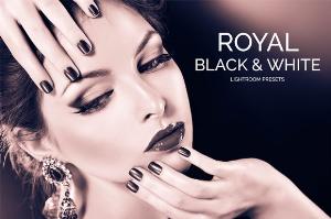 royal black&white lightroom presets